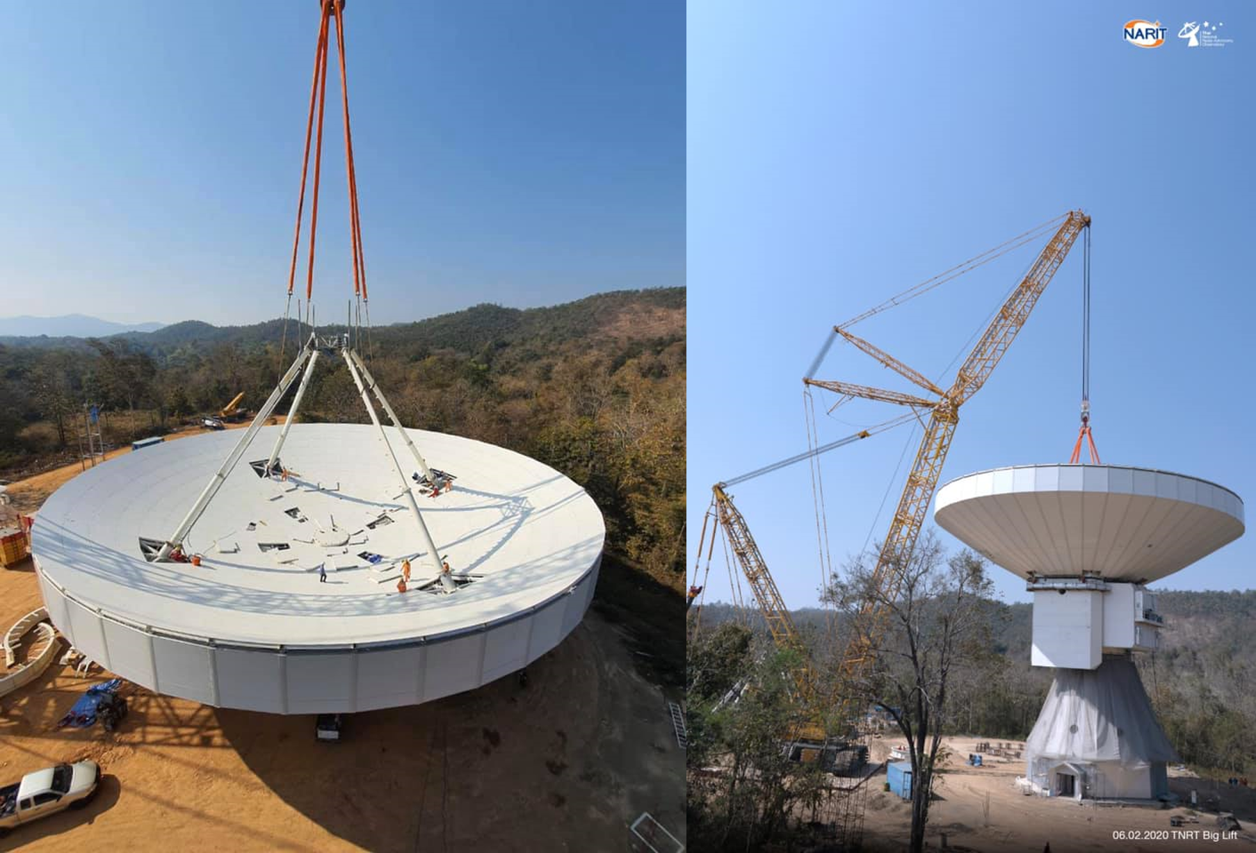 National Astronomical Research Institution of Thailand – Architectural Wall Panel Construction